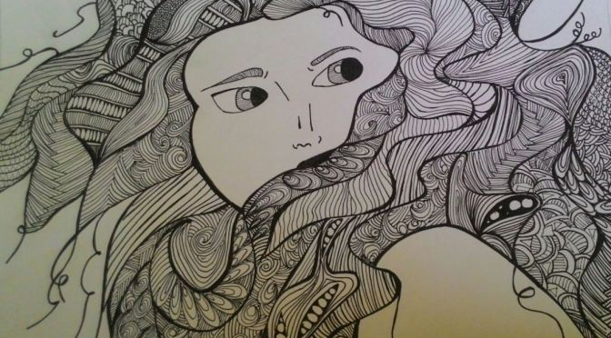 Merida – Zentangle Post 02