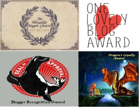 One Lovely and Seal of Approval Blog Award
