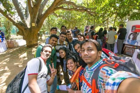 Team Selfie by Captain Rajiv