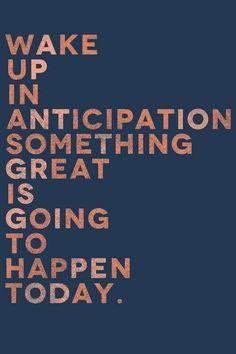 anticipation life as a potpourri