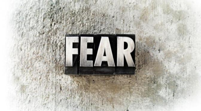 #AtoZChallenge DAY06: F for FEAR